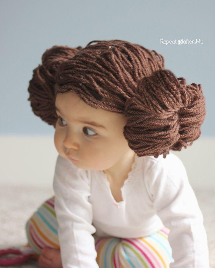 princess leia slave hair tutorial