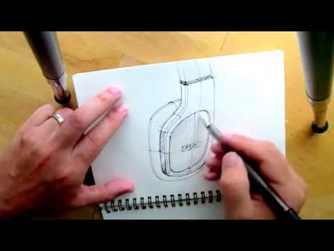 product design sketching tutorial pdf