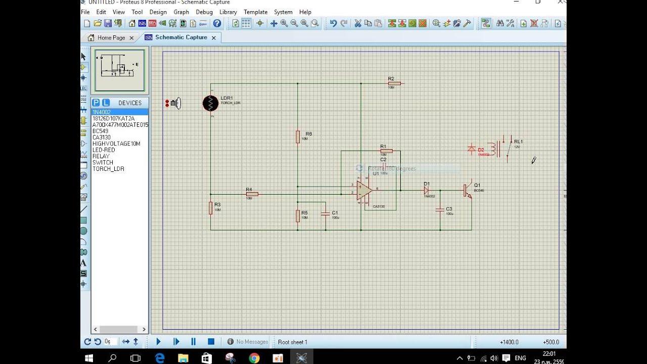 proteus 8 professional tutorial