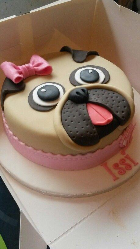 pug face cake tutorial