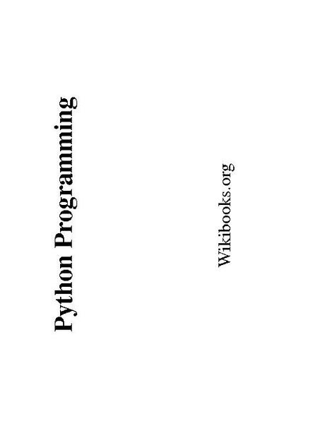 python 3.4 tutorial pdf