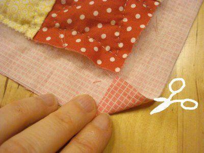 quilt binding tutorial corners