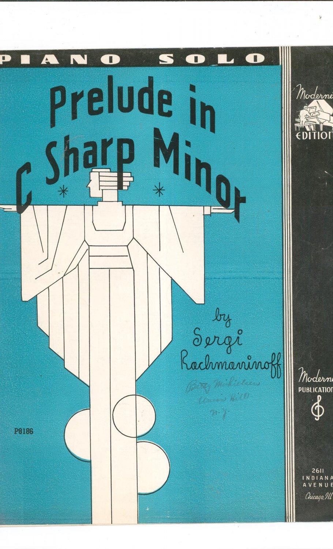 rachmaninoff prelude in c sharp minor tutorial