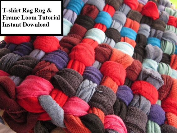 rag rug instructions tutorial