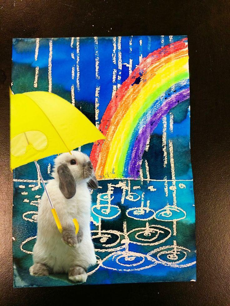 rainy day painting tutorial