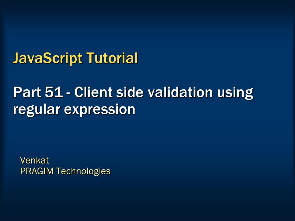 regular expression tutorial point