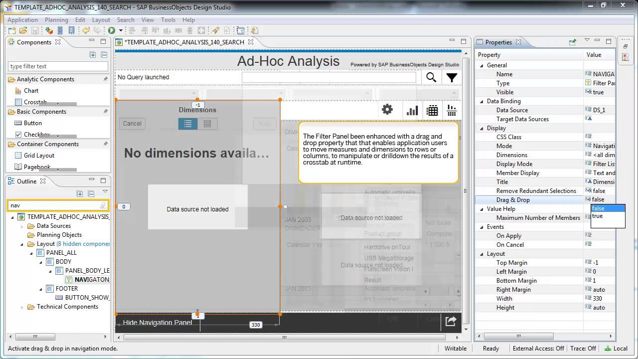 sap businessobjects design studio tutorial