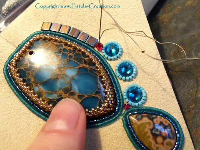 seed bead embroidery tutorial