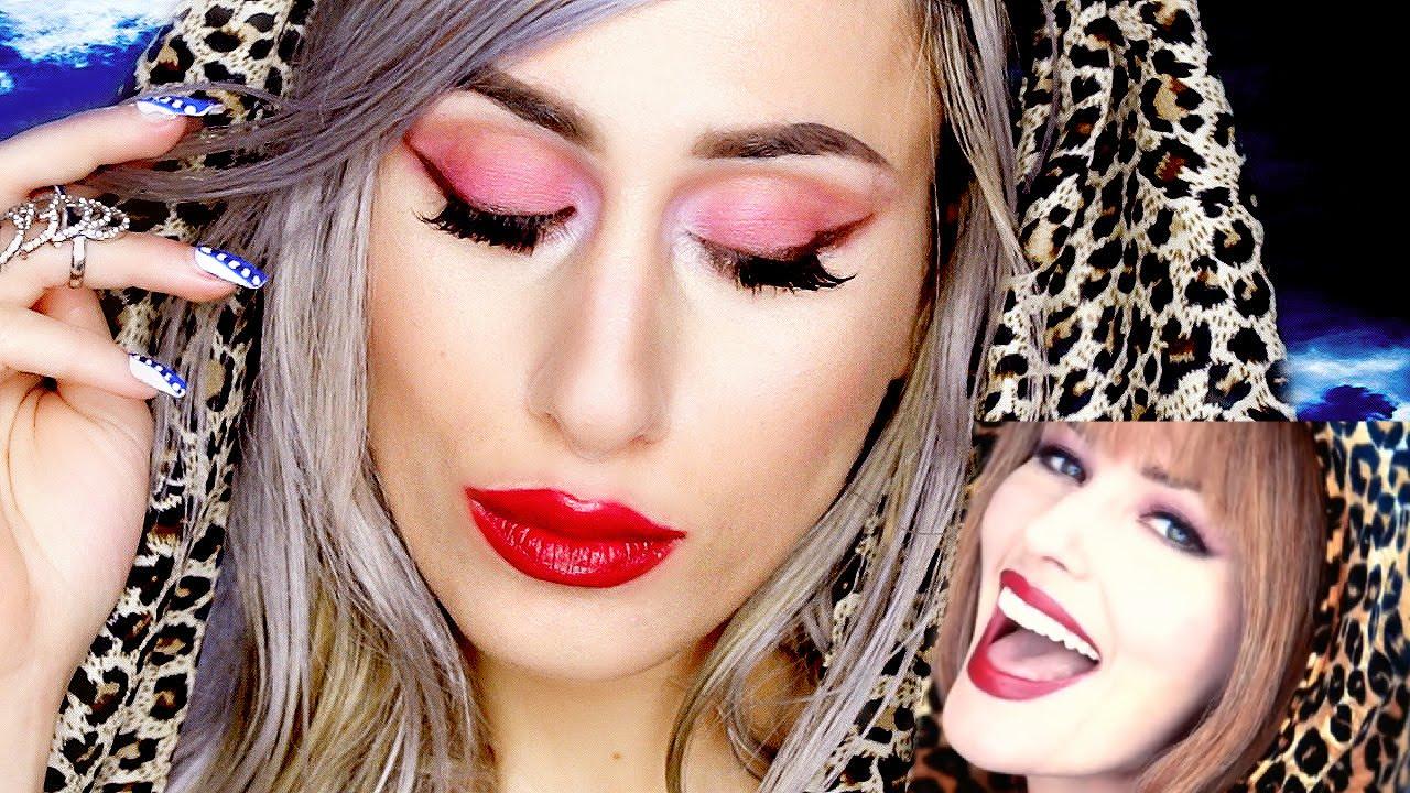 shania twain makeup tutorial