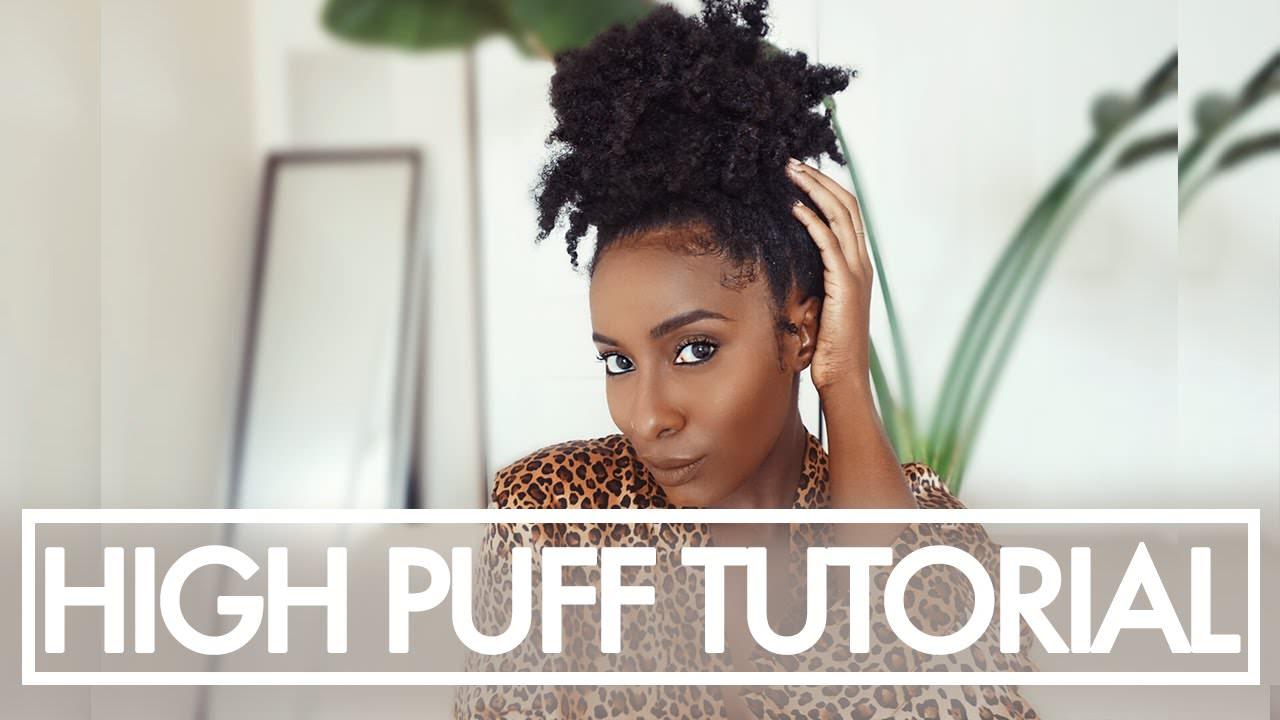 short hair tutorial for black hair