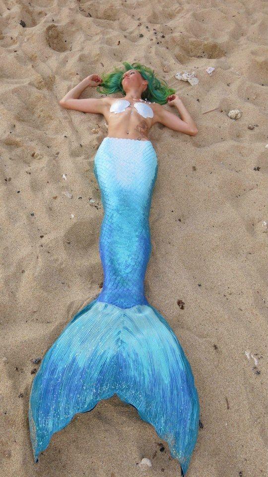 silicone mermaid tail tutorial