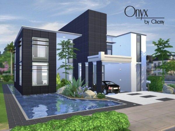 sims 4 modern house tutorial