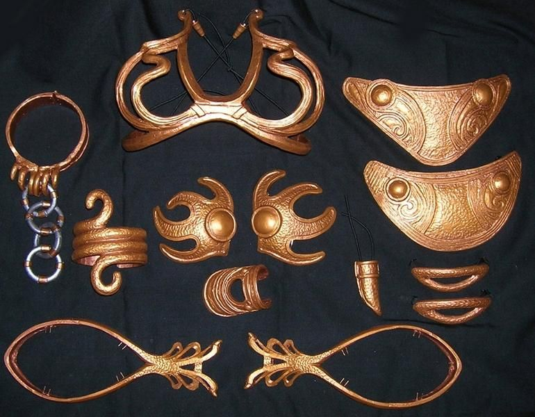 slave leia costume tutorial