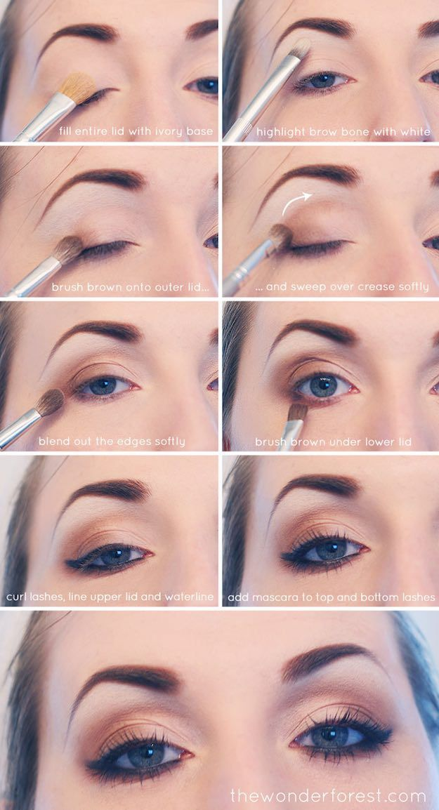 smokey eye tutorial for brown skin