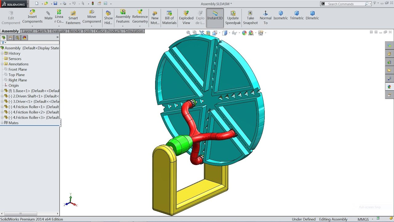 solidworks 2016 assembly tutorial