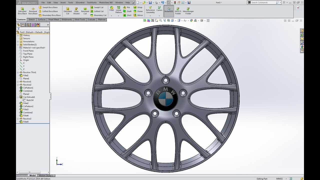 solidworks car tutorial pdf