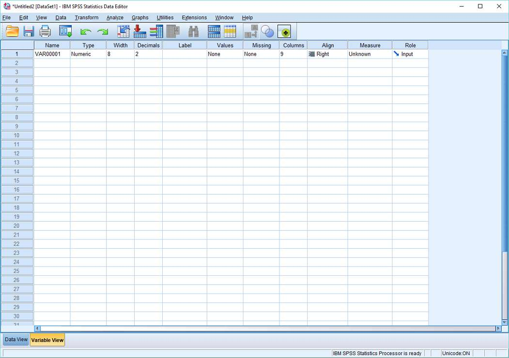 spss data entry tutorial