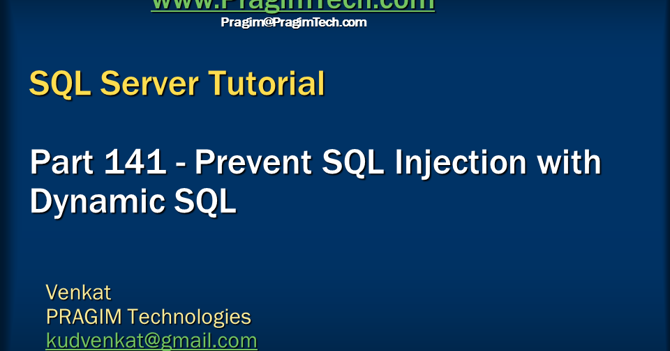 sql injection tutorial for beginners