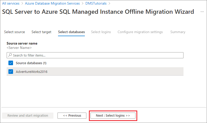 sql server azure tutorial