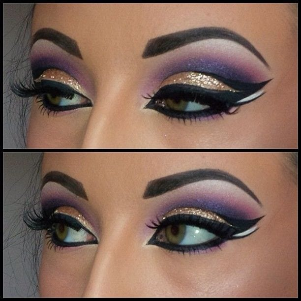 step by step cat eye makeup tutorial