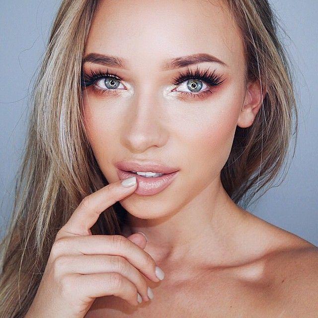 summer makeup tutorial for brown eyes