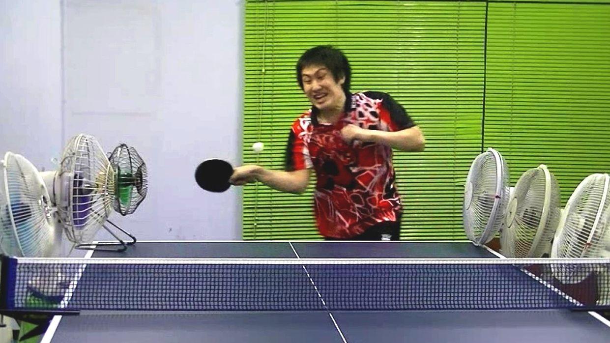 table tennis trick shots tutorial
