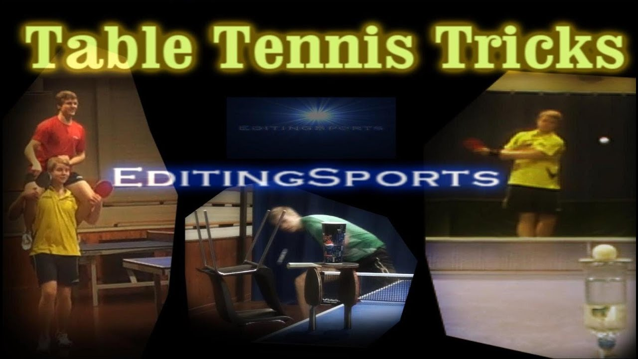 table tennis trick shots tutorial