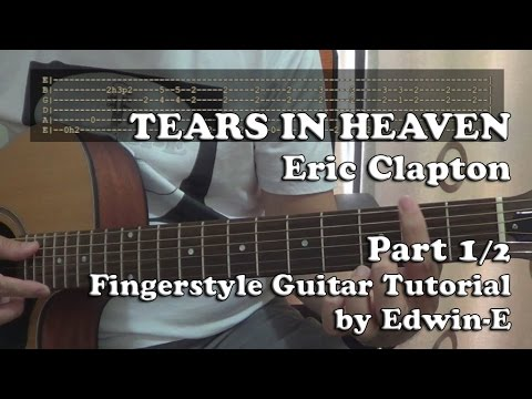 tears in heaven tutorial