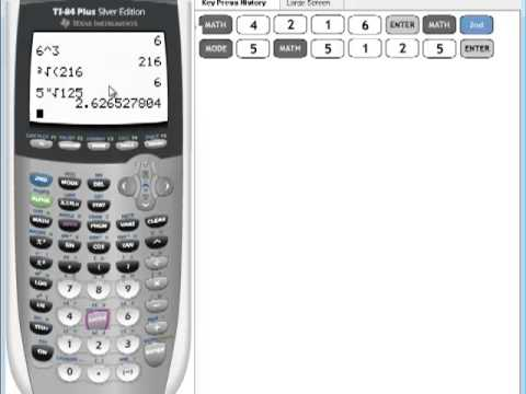 ti 84 plus calculator tutorial
