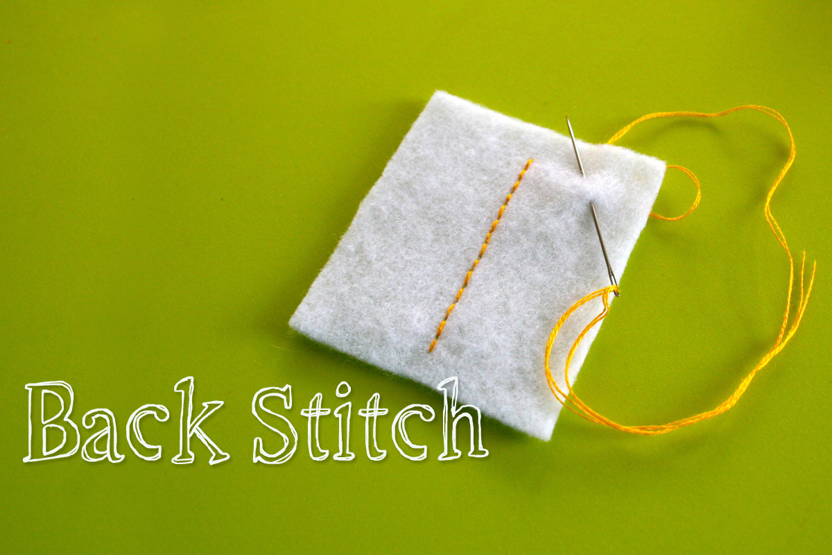 tutorial basic hand stitches