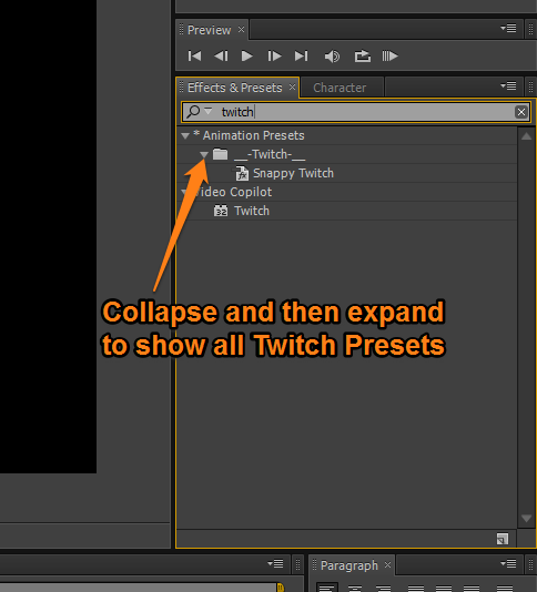 twitch tutorial after effects