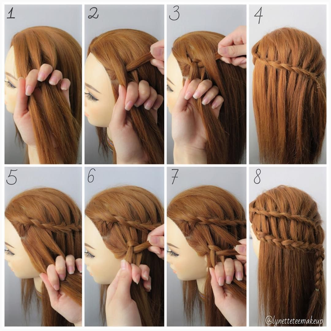 two strand braid tutorial