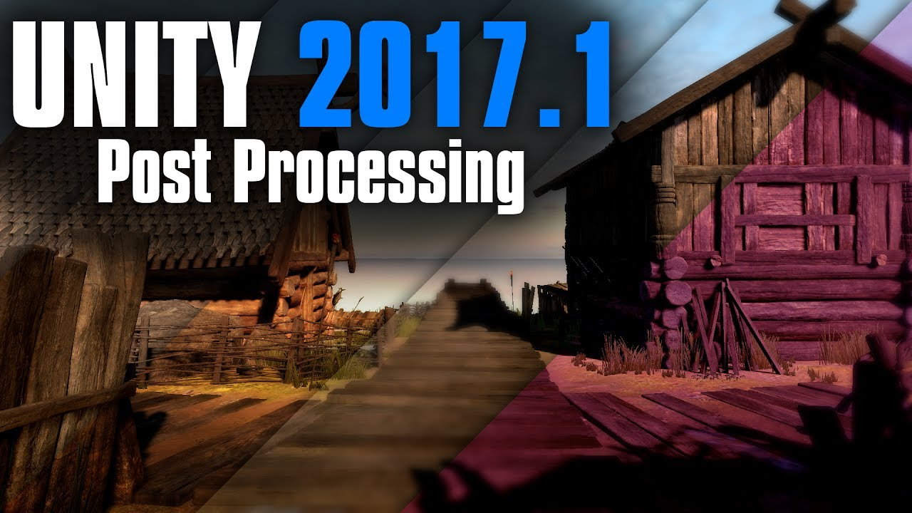 unity post processing tutorial