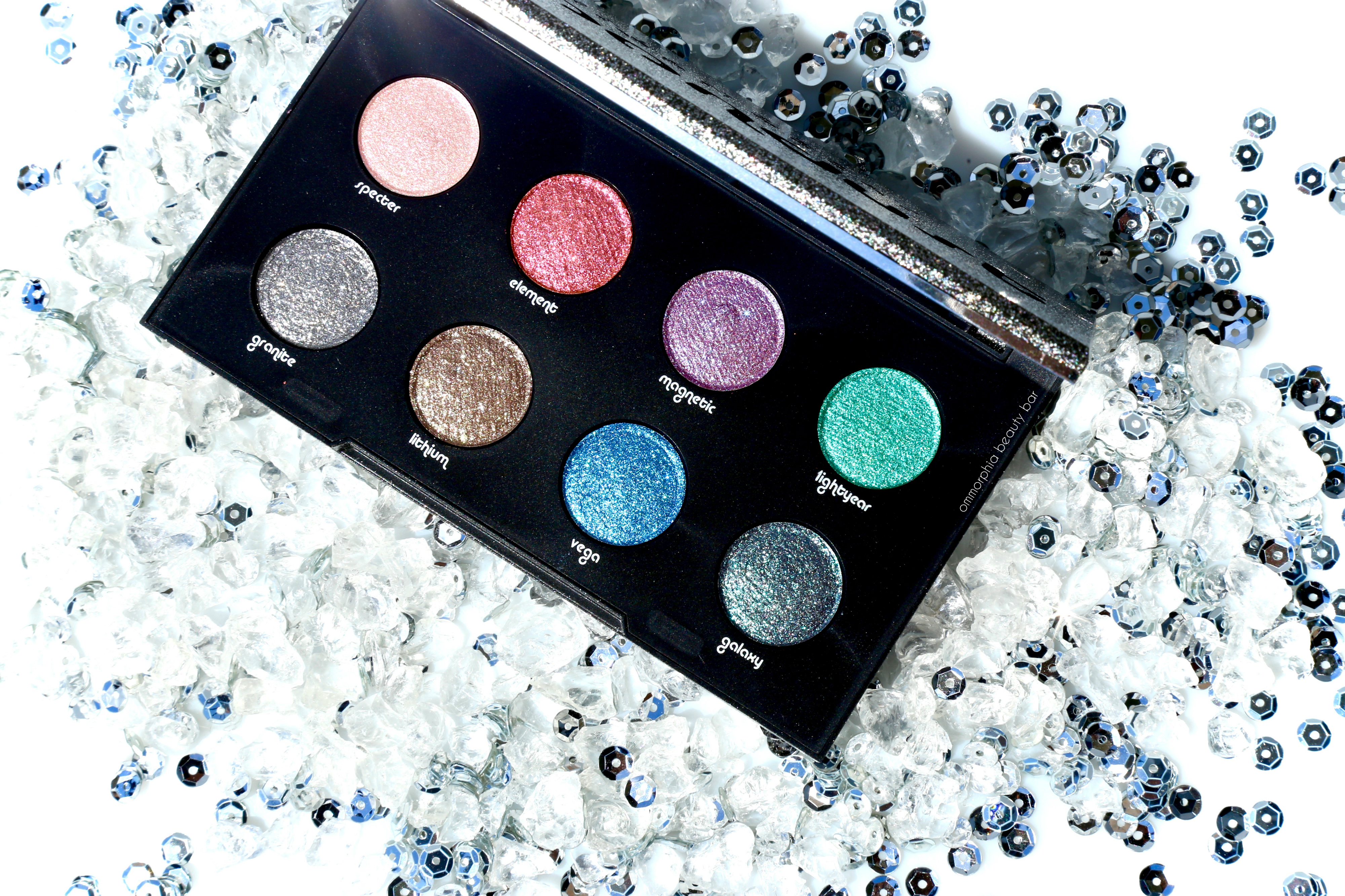 urban decay moondust palette tutorial