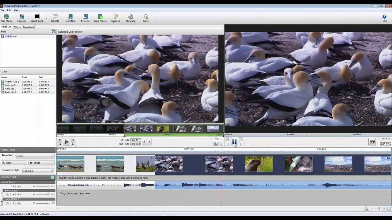 videopad video editor tutorial