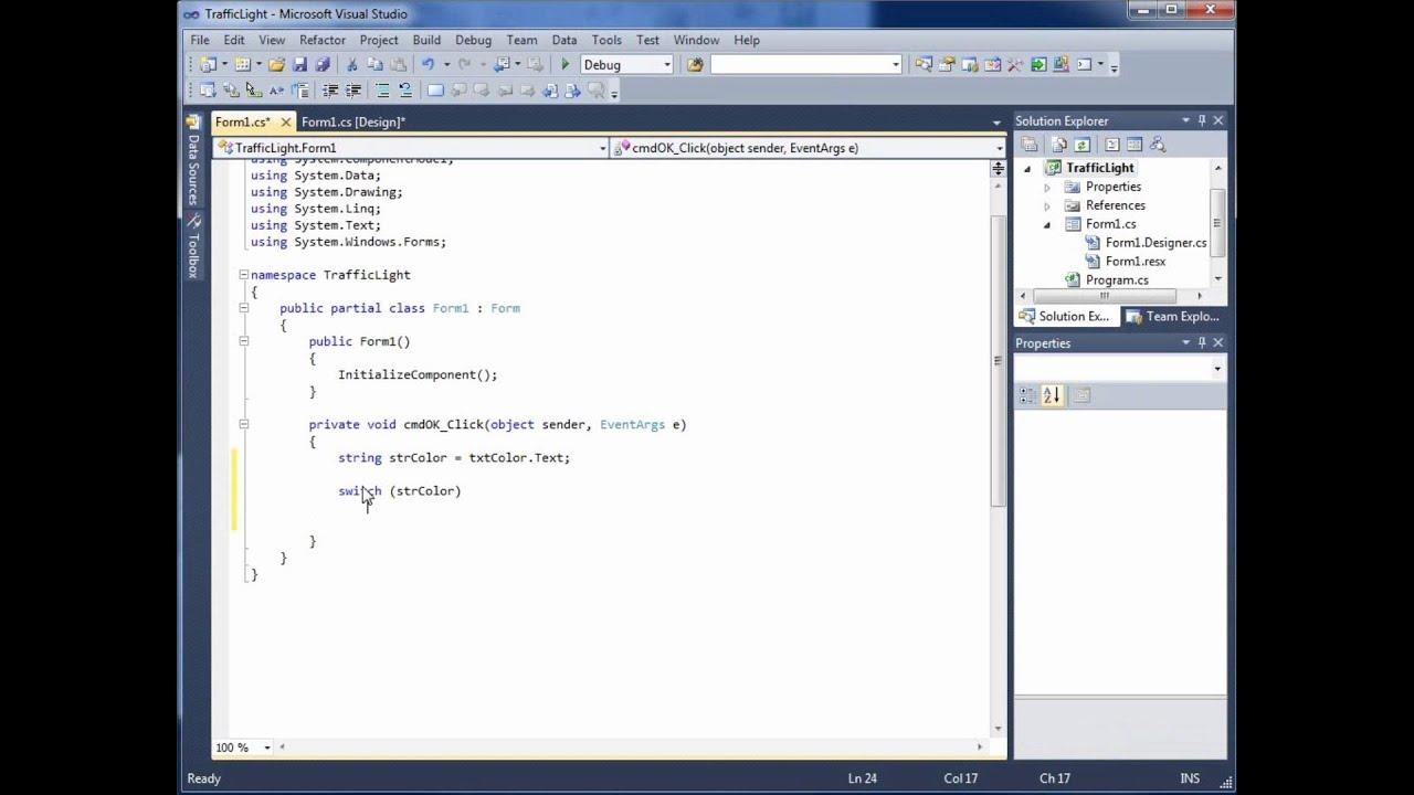 visual c# 2010 tutorial