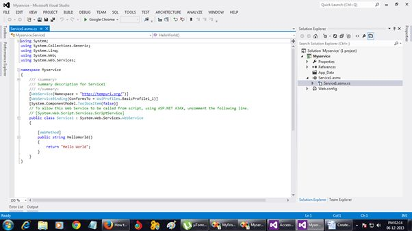 visual studio 2012 asp net web application tutorial