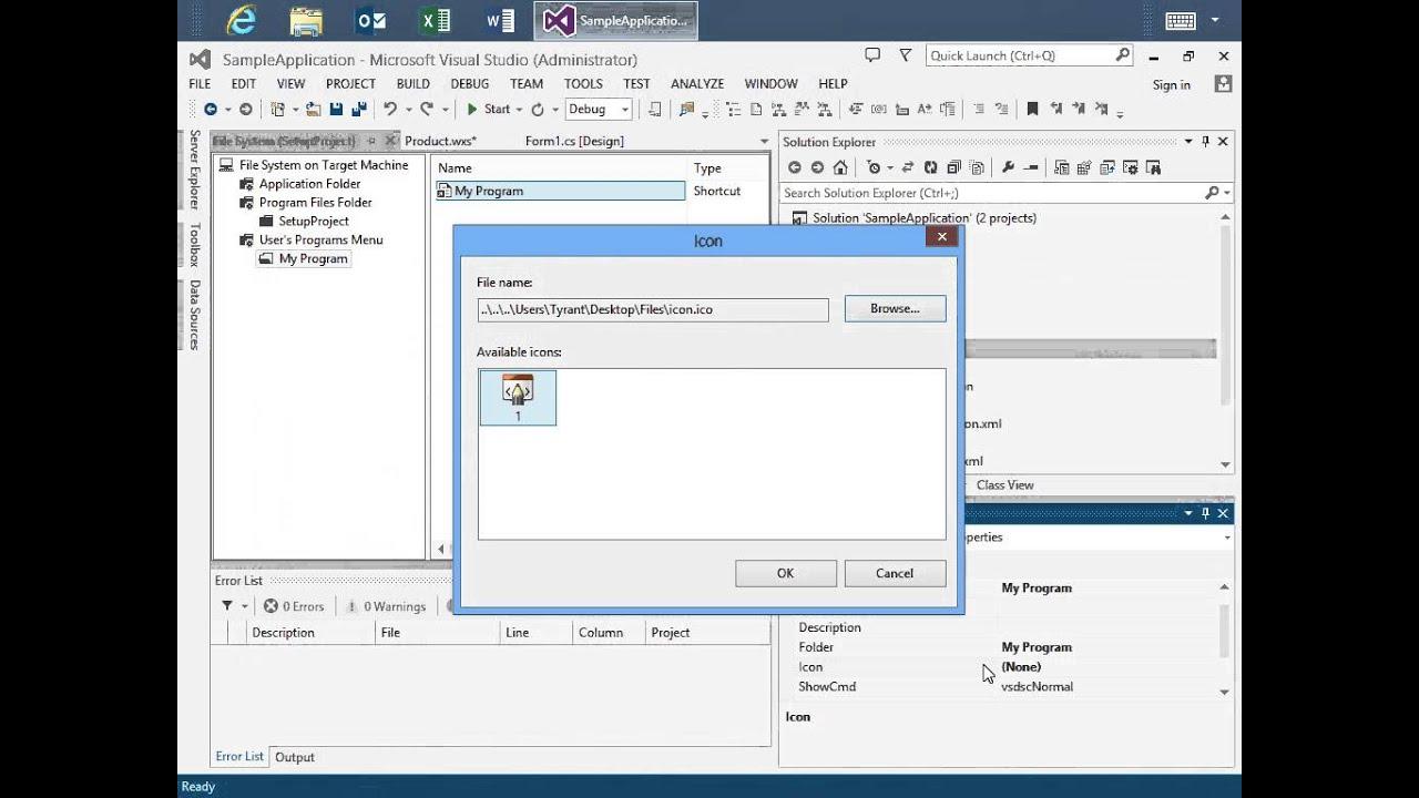 visual studio 2012 wix tutorial