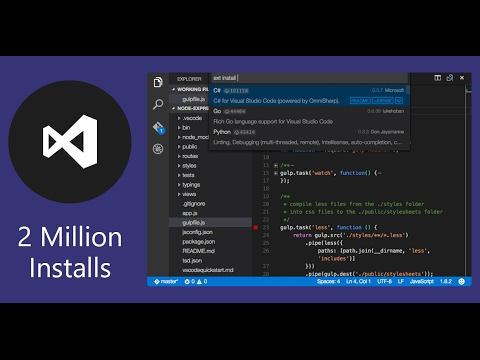 visual studio code tutorial