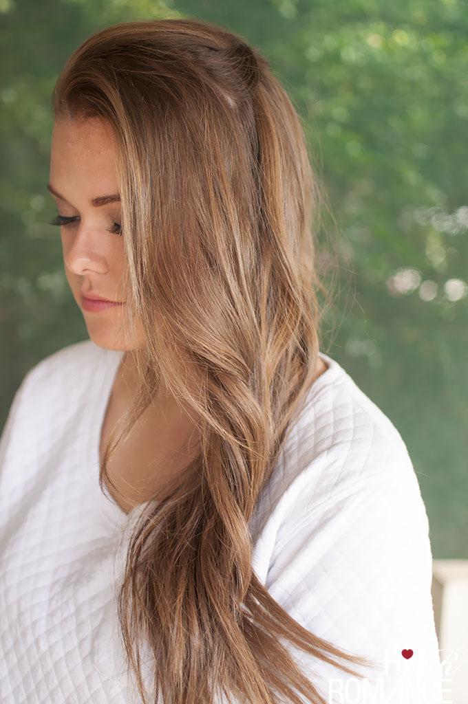 waterfall waves hair tutorial