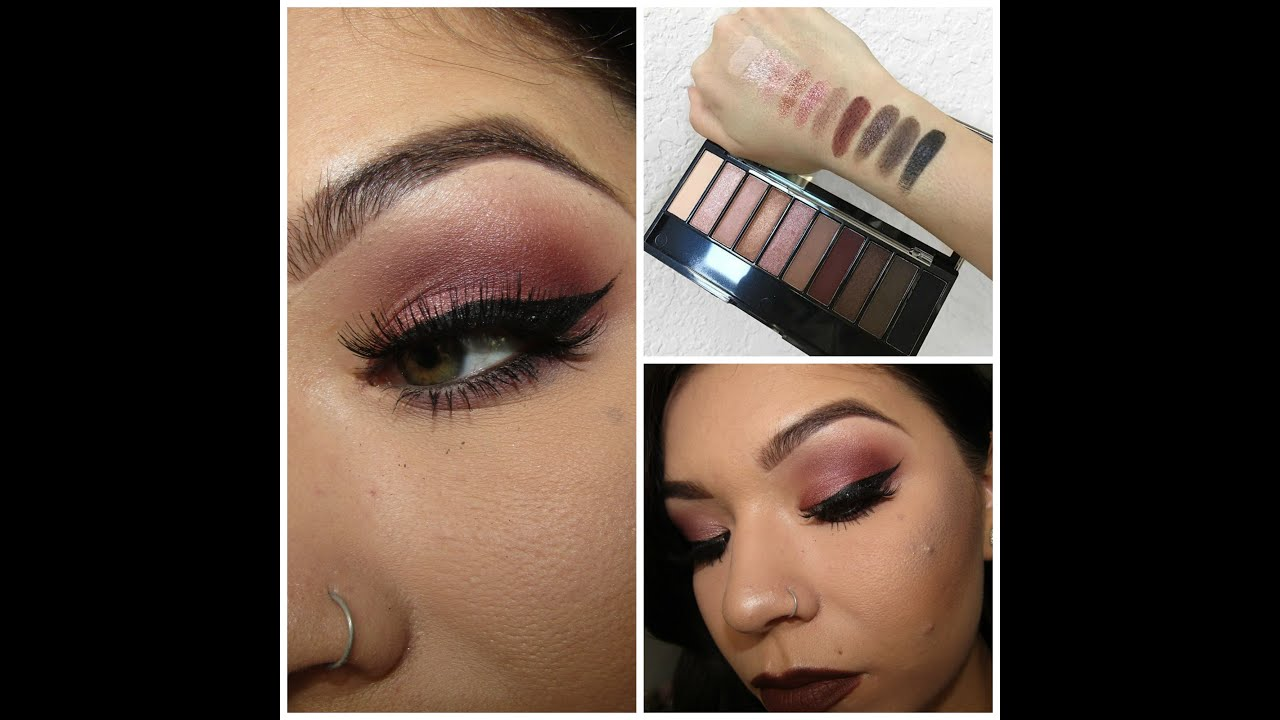 wet n wild au naturel palette tutorial