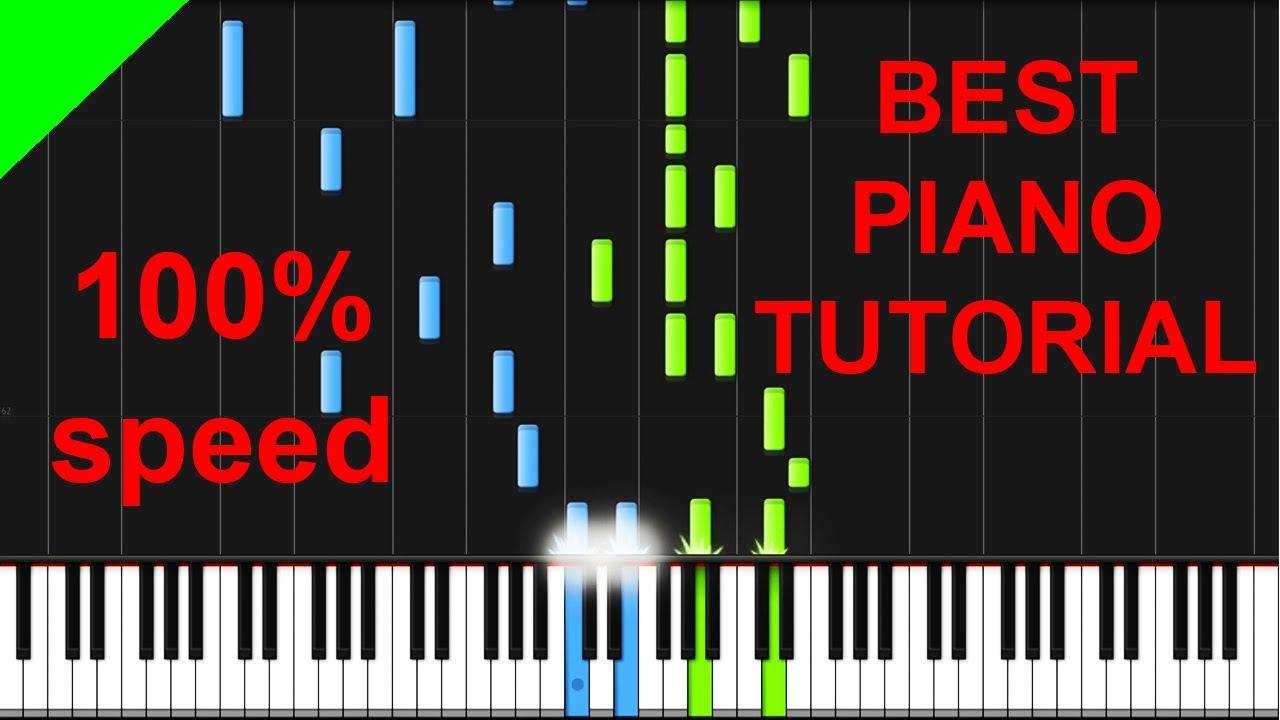 wherever i go piano tutorial