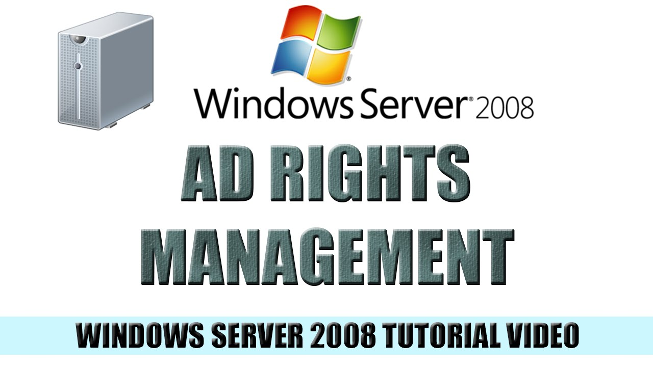 windows server active directory tutorial pdf