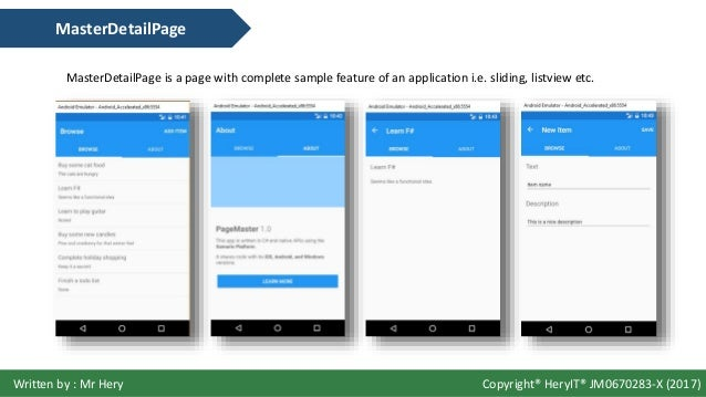 xamarin forms ui tutorial