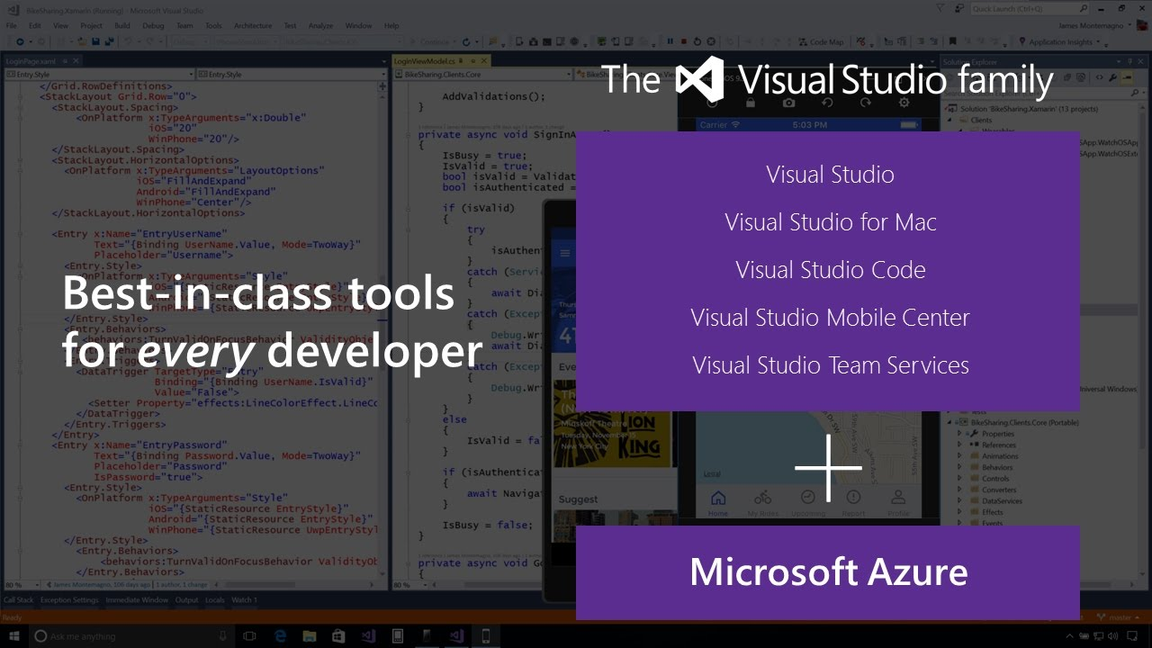 xamarin tutorial visual studio 2017