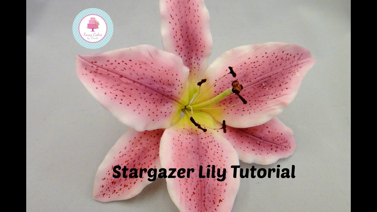 youtube sugar flowers tutorial